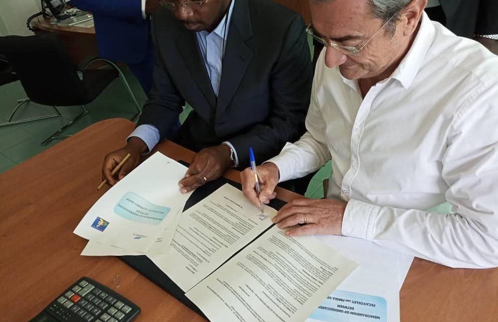 La fédération camerounaise de volleyball & FINSEA organisent une conférence de presse