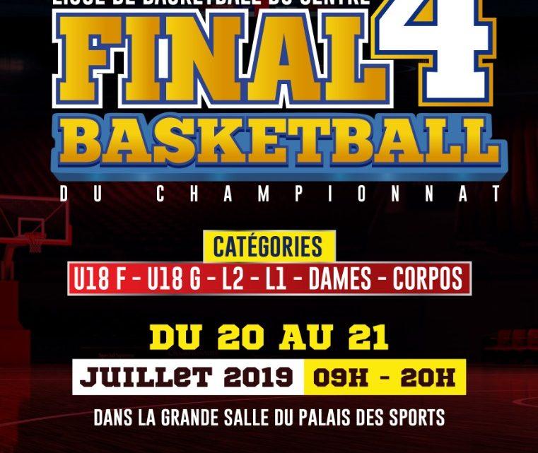 Les Final 4 organisés par la Ligue de basketball du Centre livrent leur verdict