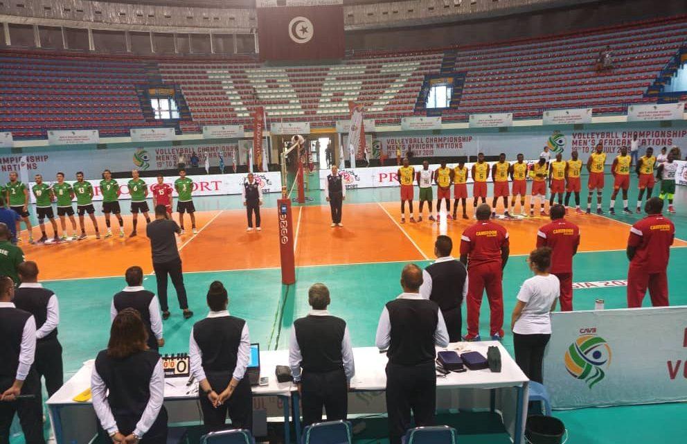 CAN Masculine de  Volleyball Tunis 2019 : Le Cameroun se qualifie pour la finale
