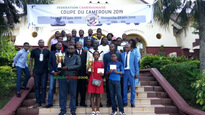 Qui sont les vainqueurs de la coupe du Cameroun du jeu d'échecs?