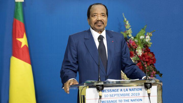 MESSAGE DU CHEF DE L'ETAT A LA NATION, Yaoundé, le 10 septembre 2019