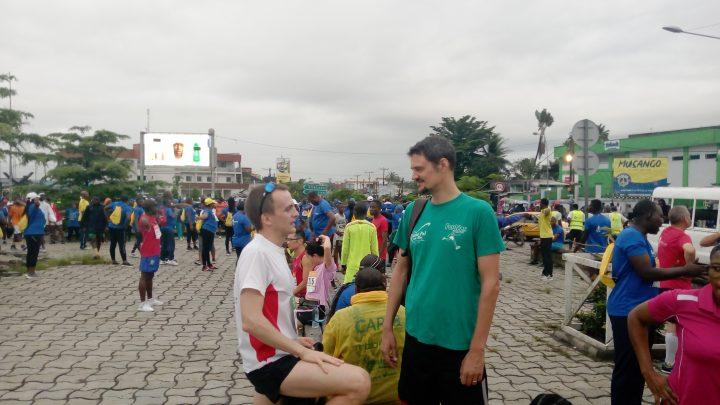 La foulée des médias au dernier marathon de Douala