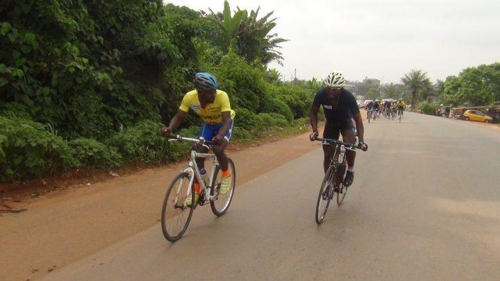 Cyclisme : Molo Fabrice sur la haute marche du podium de la 4e étape du ça me dit vélo