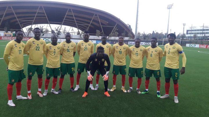 Football : 22e  CAN total Mauritanie 2021  U20, le Cameroun  boucle sa mise au vert au Maroc par une victoire
