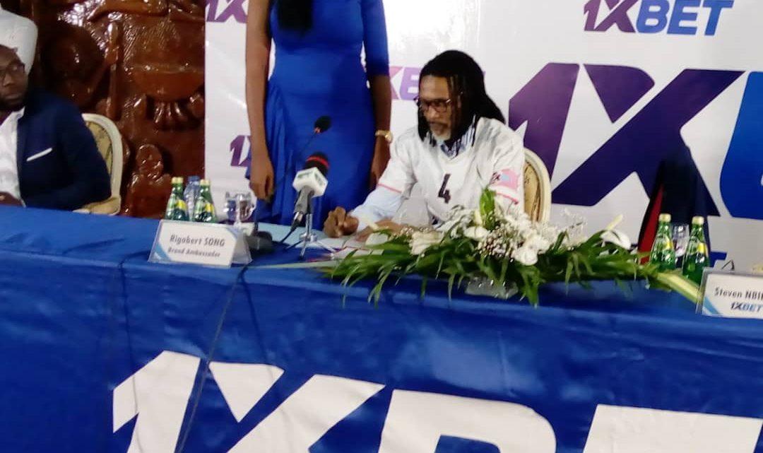 Sport et société : Rigobert Song et 1XBET s'accordent sur un projet de société