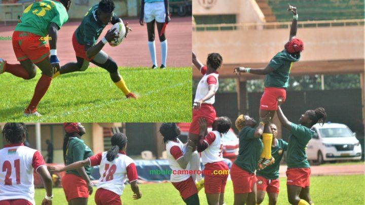 Rugby : Tournoi de repêchage Ouagadougou 2021, les équipes dames et messieurs du Cameroun survolent leur entrée en matière