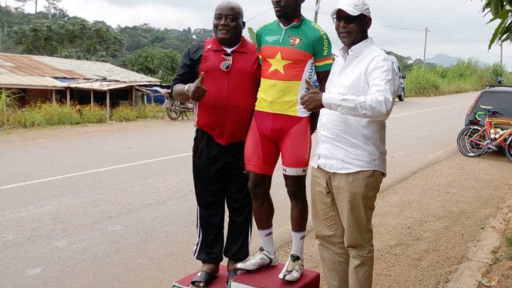 Cyclisme : Clap de fin du championnat national, Clovis  Kamzong Abossolo conserve son titre